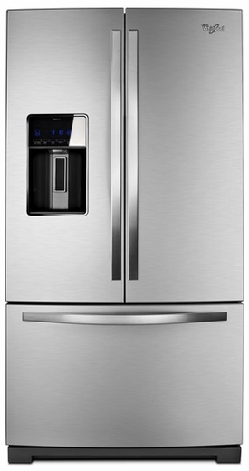 WRF989SDAM Whirlpool 29 cu. ft. French Door Refrigerator with the Most Fresh Food Capacity Available - Stainless Steel