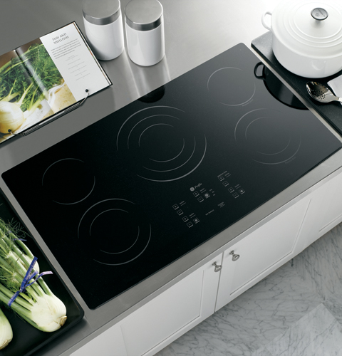 Reviews for pp975bmbb ge profile 36 electric touch for Glass cooktops pros and cons
