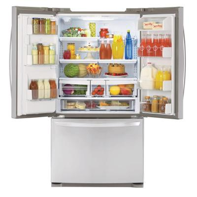 LFX21976ST LG Energy Star 20.5 Cu. Ft. Counter Depth French Door Refrigerator - Stainless Steel
