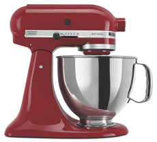 KSM150PSER KitchenAid Artisan Series 5 QT. Stand Mixer - Empire Red