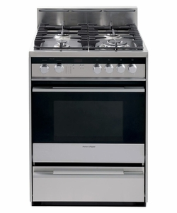 "OR24SDMBGX2 Fisher & Paykel 24"" Gas Range - Stainless Steel"
