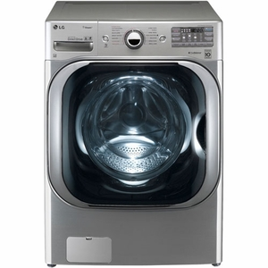 DLGX8001V LG 9.0 Cu. Ft. Mega Capacity Gas Dryer with Steam Technology - Graphite Steel