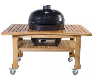 PR603 Primo Teak Table for Oval XL Grill