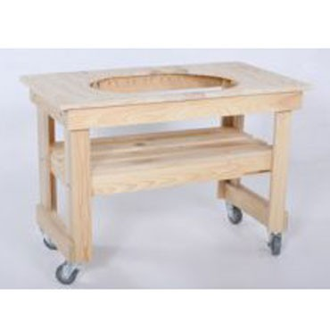 PR605 Primo Compact Cypress Table for Oval JR Grill