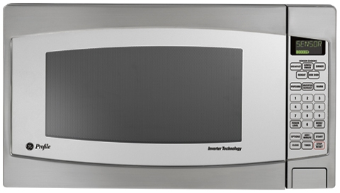 JES2251SJ GE Profile 2.2 Cu. Ft. Capacity Countertop Microwave - Stainless Steel
