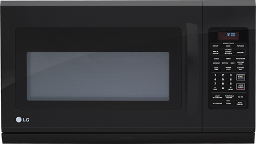 Reviews for lmh2016sb lg over the range microwave with extenda vent black for Microwave oven vent to exterior wall