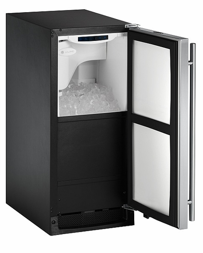 CLR2160S-00 U-Line 2000 Series Undercounter Clear Ice Maker - No Pump - Stainless Steel - Right Hinged