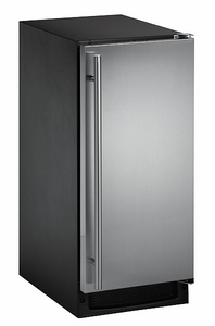 CLR2160S-01 U-Line 2000 Series Undercounter Clear Ice Maker - No Pump - Stainless Steel - Left Hinged