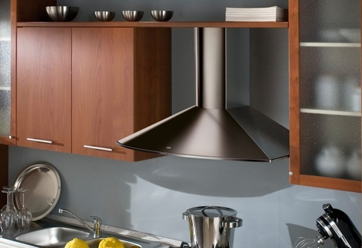 """TEND36SS600B Faber Decorative Collection 36"""" Tender 600 CFM Wall Hood - Stainless Steel"""