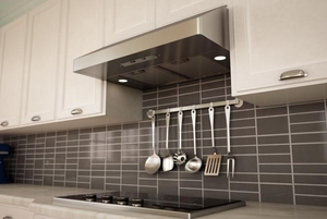 """AK7136AS-BF Zephyr Gust 36"""" Under Cabinet Hood Euro Pro with 400CFM Blower - Stainless Steel"""