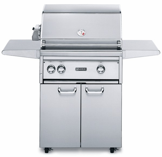 "L27PSFR3NG - Lynx 27"" Freestanding Professional Outdoor Grill with 1 ProSear and Rotisserie- Natural Gas"