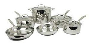 77-10 Cuisinart Chef's Classic 10-pc. Stainless Steel Cookware Set