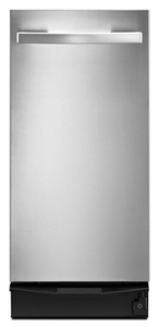 "TU950QPXS Whirlpool 15"" Undercounter Trash Compactor - Stainless Steel"