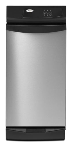 "GX900QPPS Whirlpool 15"" Undercounter Trash Compactor - Stainless Steel"