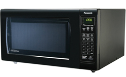 NN-H765BF Panasonic Full-Size 1.6 cu. ft. Countertop Microwave Oven - Black