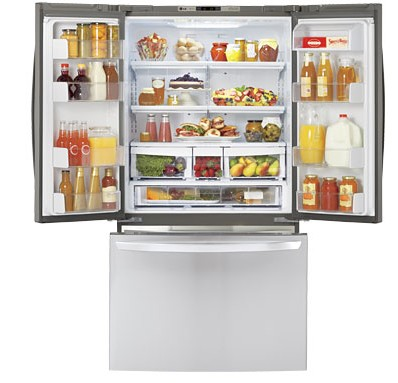 worldwide french refrigerators refrigerator door lg delivers regrigerator over million in one