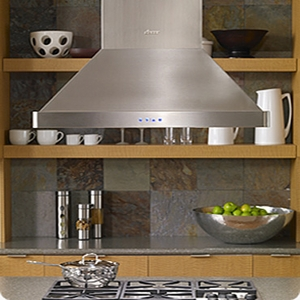 """DHI482 Dacor 48"""" Heritage Collection Island Hood with 600 CFM Blower and Illuminated Control Panel - Stainless Steel"""