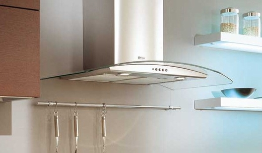 """TRAT36SS600B Faber Designer Collection 36"""" Tratto Chimney Wall Hood - Stainless Steel"""