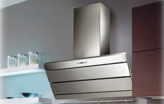"""ORIZ36SS Faber Designer Collection 36"""" Orizzonte Wall Hood - Stainless Steel"""