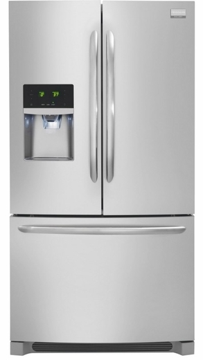 FGHB2866PF Frigidaire Gallery 27.8 Cu. Ft. French Door Refrigerator - Stainless Steel