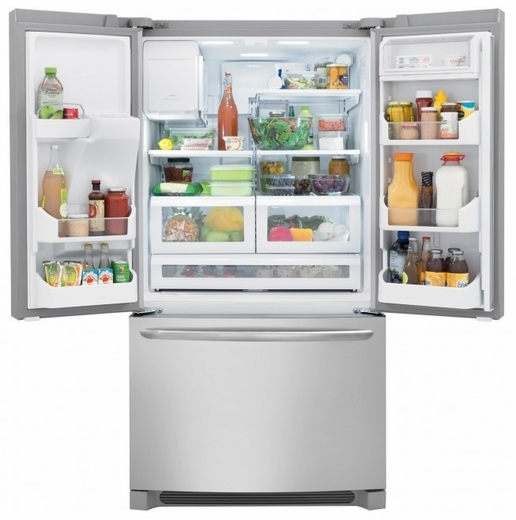 FGHB2866PF Frigidaire Gallery 27.8 Cu. Ft. French Door Refrigerator    Stainless Steel