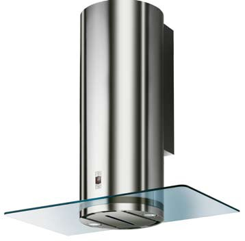 """CYLN15SS Faber Designer Collection 15"""" Cylindra Wall Hood - Stainless Steel"""