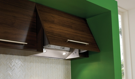 """630006506 Faber Integrated Collection 24""""/30"""" Custom Jewel Tiltout Hood - Stainless Steel"""