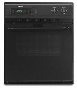 "CWE4100ACB Maytag 24"" Electric Single Built-in Oven - Black"