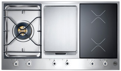 Pm361igx bertazzoni built in designer series 36 segmented for Protege plaque de cuisson induction