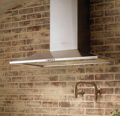 "DAMA30SS Faber Decorative Collection 30"" Dama 600 CFM Wall Hood - Stainless Steel"