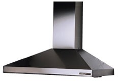 "619004EX Broan Elite 36"" Wall Mount Chimney Hood - Requires External Blower - Stainless Steel"