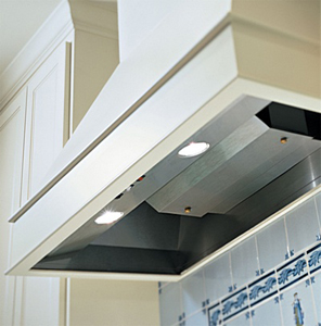 """BH128SLD-SS Vent-A-Hood 12"""" x 28 3/8"""" x 19 1/4"""" Standard Wall Mount Liner (300 CFM) - Stainless Steel"""