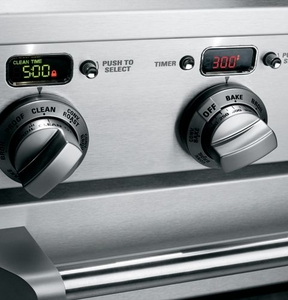 """ZDP304NPSS Monogram 30"""" Dual-Fuel Pro Style Range with 4 Burners - Natural Gas - Stainless Steel"""