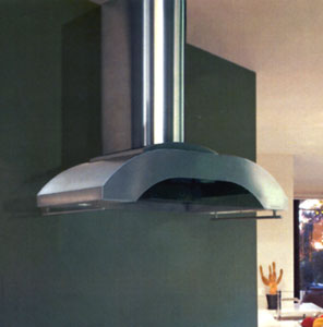 """GTH-K36 Vent-A-Hood 36"""" Contemporary Wall Mount Hood - Stainless Steel"""