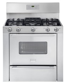 "FPGF3685LS Frigidaire Professional 36"" Freestanding Gas Range with Sealed Burners - Stainless Steel"
