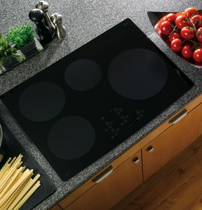 "PHP900DMBB GE Profile 30"" Electric Induction Cooktop - Black"