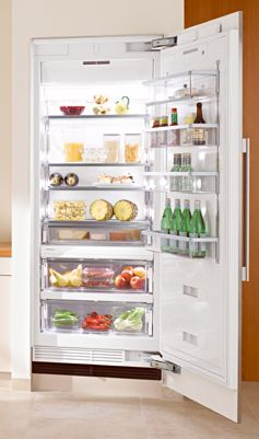 "K1903SF Miele Energy Star 36"" Fully Integrated All Refrigerator Right Hinged - CleanTouch Stainless Steel"