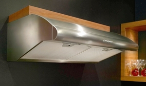 """PELL36SS Faber Professional Collection 36"""" Pellicano Undercabinet Hood - Stainless Steel"""