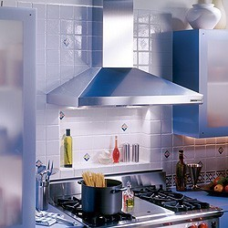 "614804 Broan Elite 48"" Wall Mount Chimney Hood with 900 CFM Internal Blower - Stainless Steel"