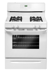 "FFGF3023LW Frigidaire 30"" Freestanding Gas Range with Quick Broil - White"