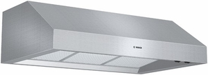 """DPH36652UC Bosch 36"""" Pro-Style Under Cabinet Hood with 600 CFM Blower - Stainless Steel"""