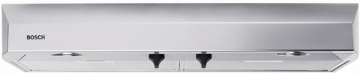 "DUH36152UC Bosch 36"" Under Cabinet Hood with 280 CFM Blower - Stainless Steel"