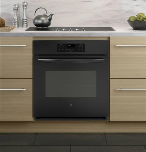"JK1000DFBB GE 27"" Built-In Single Wall Oven - Black"