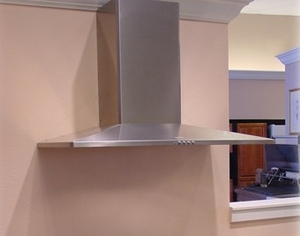 """DIAM48SS Faber Designer Collection 48"""" Diamante Wall Hood - Stainless Steel"""