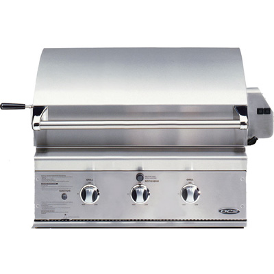"""BGB30-BQRL DCS 30"""" Outdoor Professional Grill - Liquid Propane - Stainless Steel"""