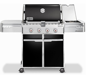 7221001 Weber Summit E-420 Outdoor Gas Grill - Natural Gas - Black