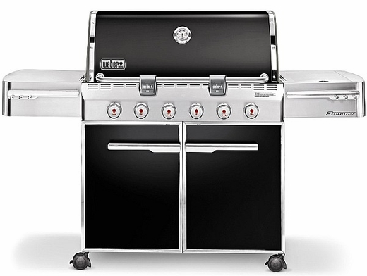7421001 Weber Summit E-620 Outdoor Gas Grill - Natural Gas - Black