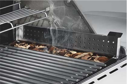 7470001 Weber Summit S-670 Outdoor Gas Grill - Natural Gas - Stainless Steel