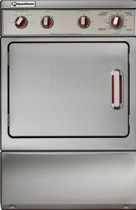 ADE41F Speed Queen Front Control Electric Dryer - Imperial Series - Stainless Steel