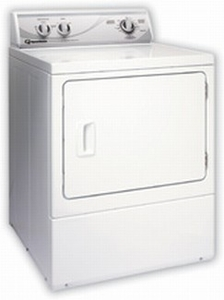 ADE3LR Speed Queen Rear Control Electric Dryer - 3 Cycles - White